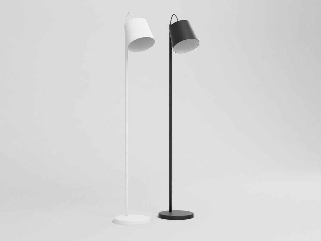 buckle head lamp 3D model