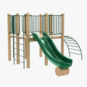 kid equipment recreational 3D model