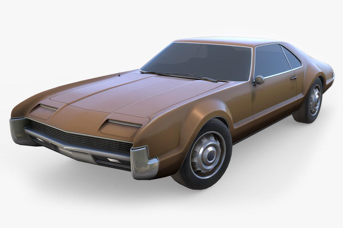 oldsmobile toronado 3D model