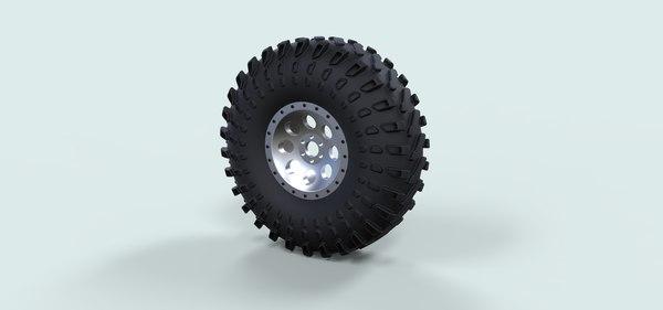 wheel crawling buggy 3D model