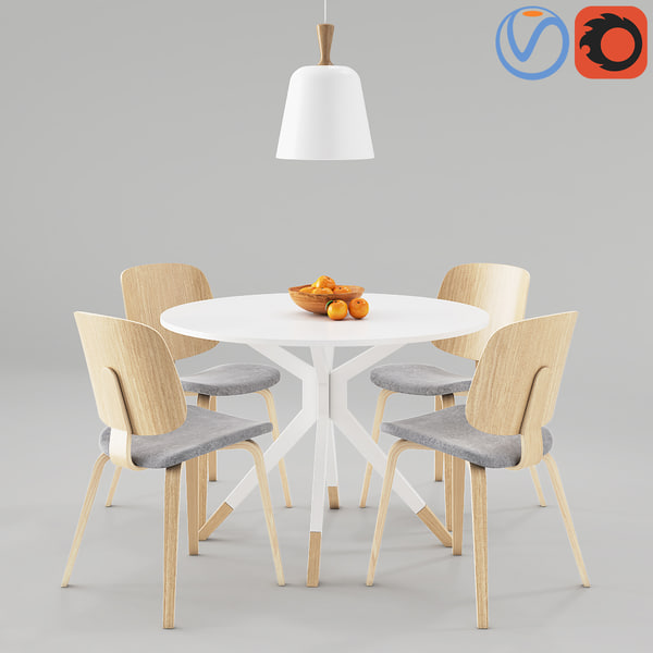 table boconcept billund aarhus 3D