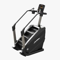 3D powermill climber elevation series