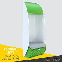 football seat model
