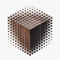 3D parametric cube