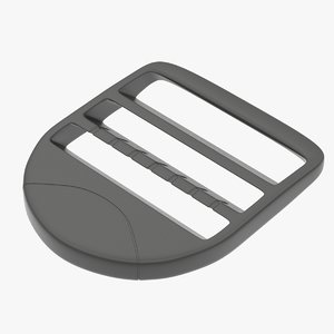 strap adjuster piece 3D model