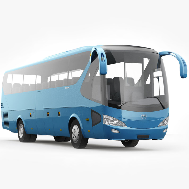 3D yutong zk6129h