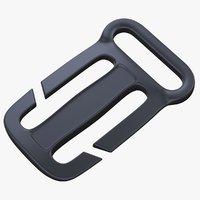 3D quik attach sternum strap