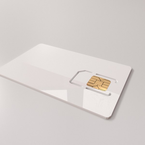 sim card v2 3D model