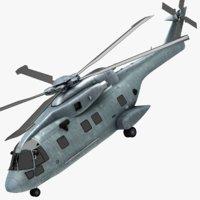agustawestland aw101 3D model