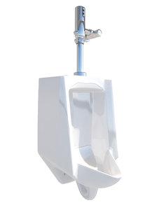 3D model urinal flush valve