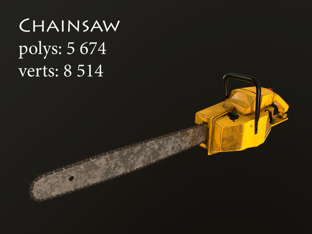 3D chainsaw games