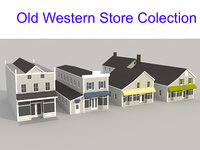 Old Western Store Colection
