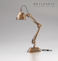 3D weylandts brass table lamp model