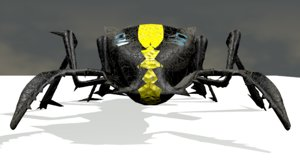 3D insect robot model