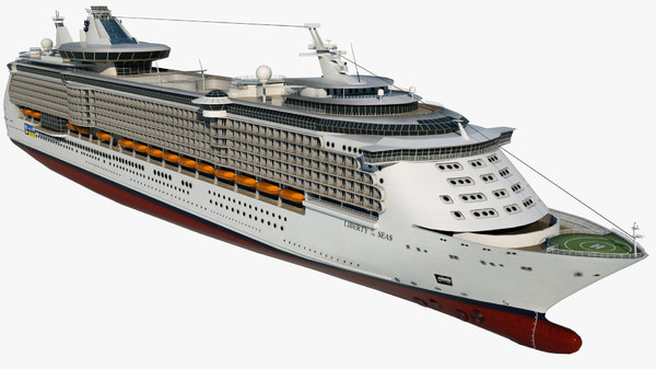 cruise liberty seas ship 3D model