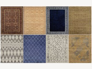 3D mafi international rugs model