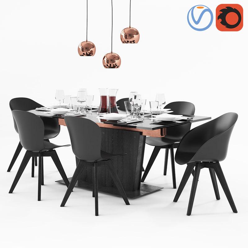 3D table boconcept monza adelaide