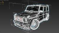 3D model mercedes-benz amg