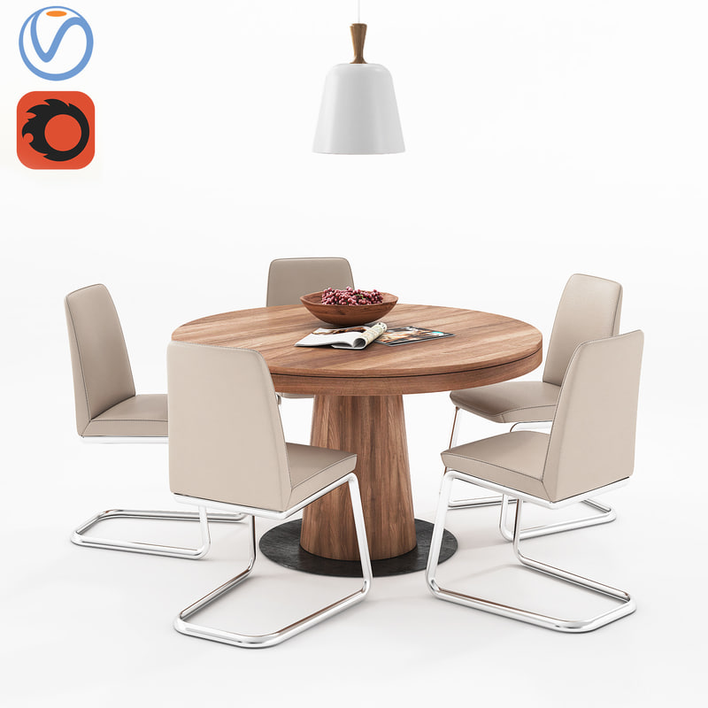 3D dining table boconcept granada
