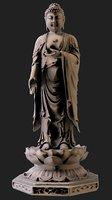 buddha statue model