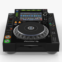 Tabletop DJ Player Pioneer CDJ 2000NXS2