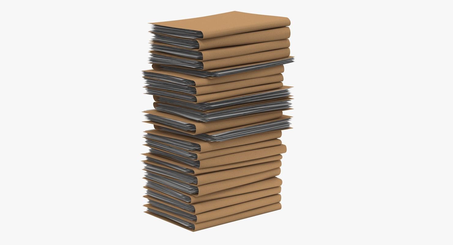 3D paper files