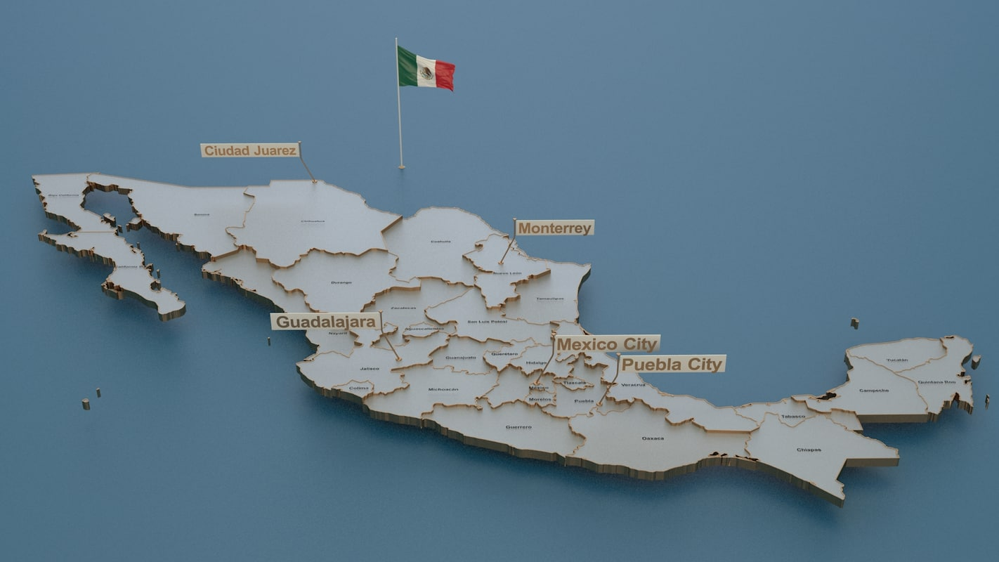 3D mexico animation