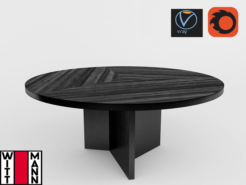 wittmann mokka table v 3D model