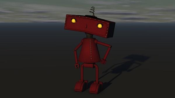 bad robot 3D model