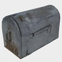 3D old mailbox model