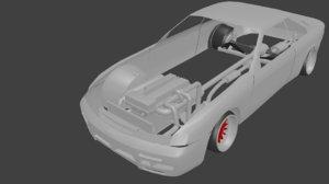 3D body coilover turbo