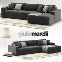 3D giulio marelli epika sofa