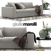 Giulio Marelli Epika 2-x Sofa