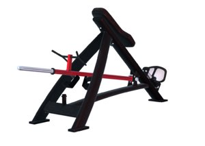 bent-over row barbell 3D model