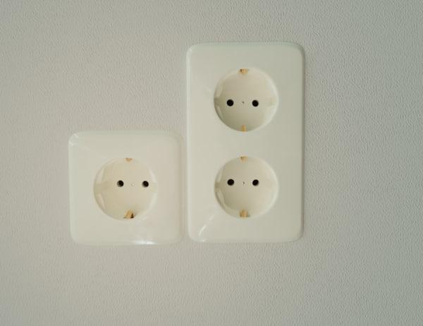 3D electric socket model