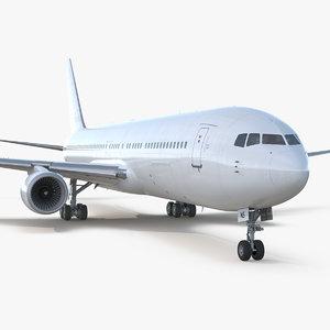 boeing 767-300 generic 3D