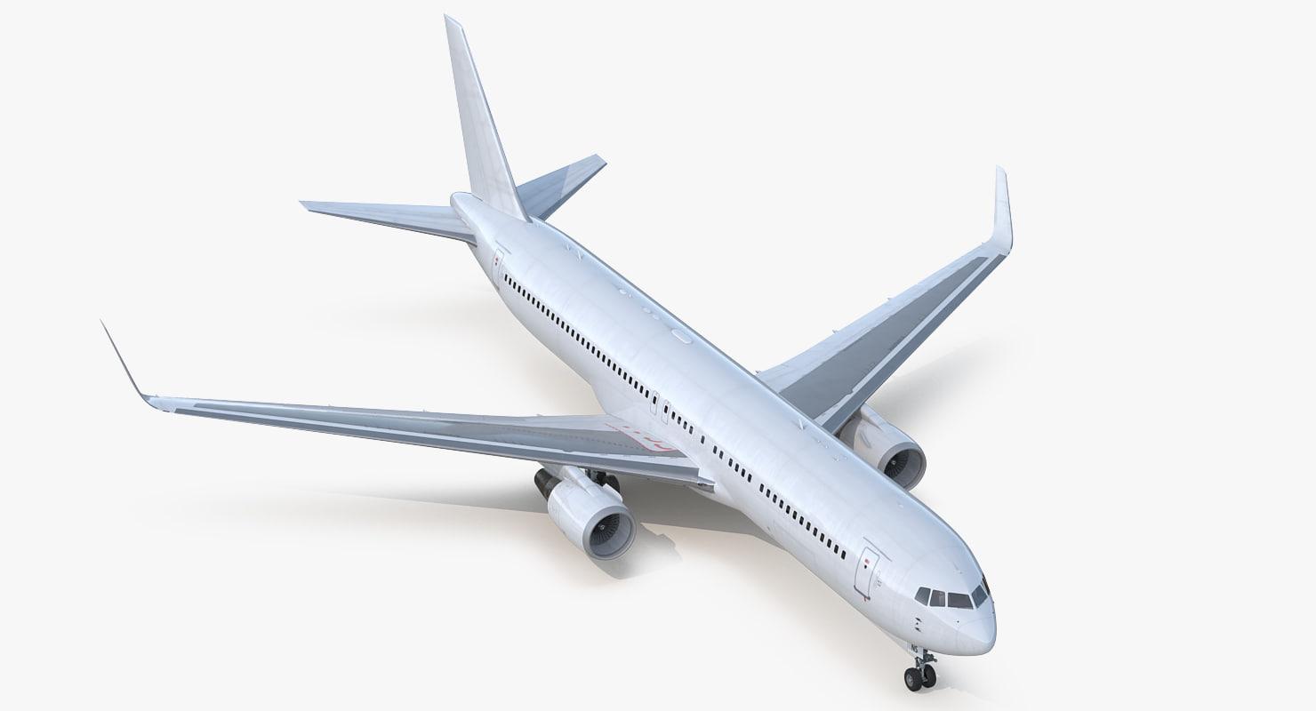 boeing 767-300er generic 3D model