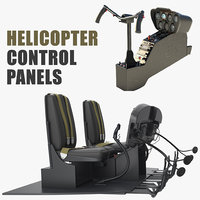 Helicopter Control Panels Collection
