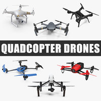 quadcopter drones quad 3D