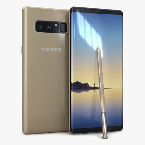 3D samsung galaxy note 8