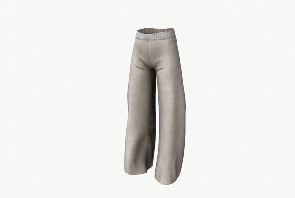 3D culotte pants