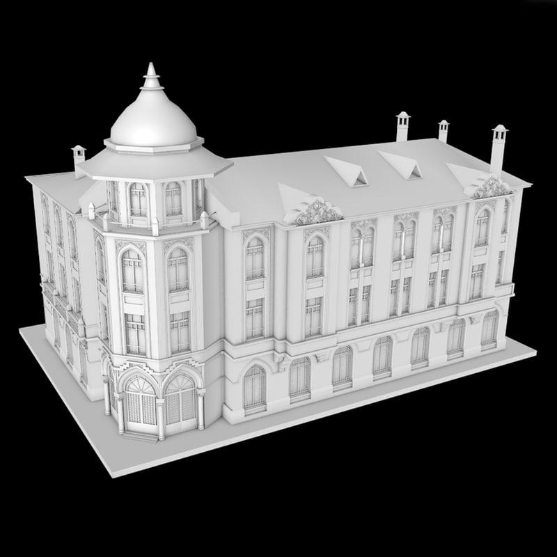 historic building model