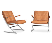 lounge chair preben fabricius 3D model