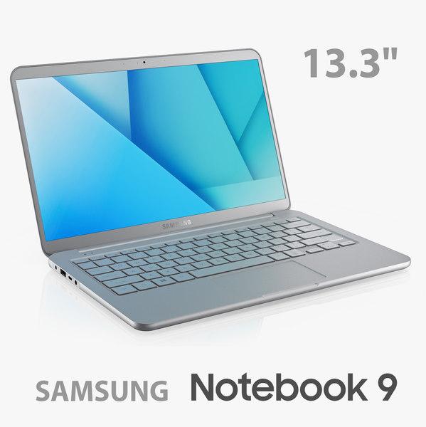 3D samsung notebook 9 13 model