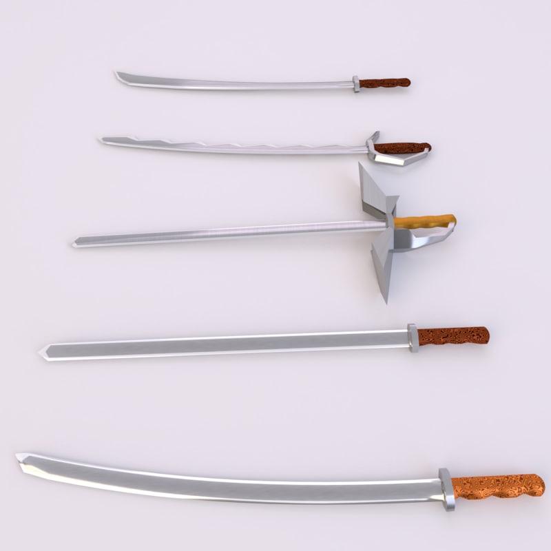 swords model