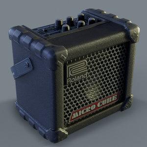 roland microcube guitar amplifier model