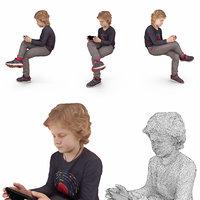 boy gadget 3D model