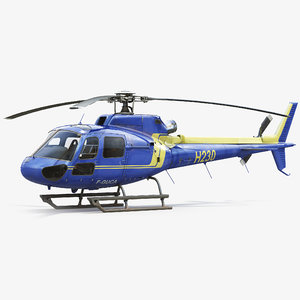eurocopter rescue helicopter model