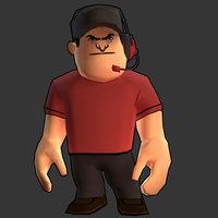 3D fortress member