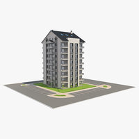 building apartment 3D